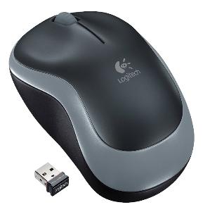 Logitech Wireless Mouse M185 - Swift Gray