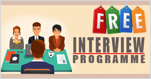 Interview Programme cover
