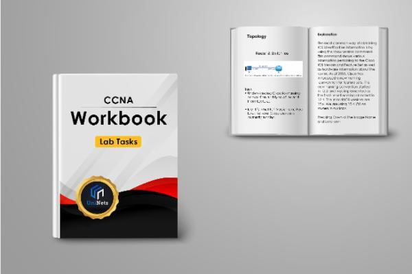CCNA Workbook cover