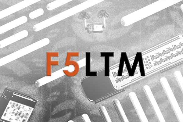F5 LTM Training cover