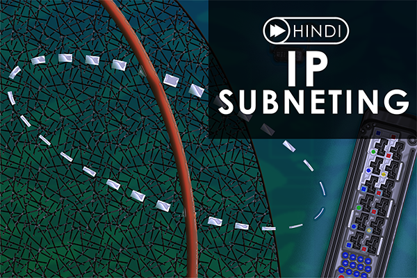 IP Subnetting Course Hindi cover