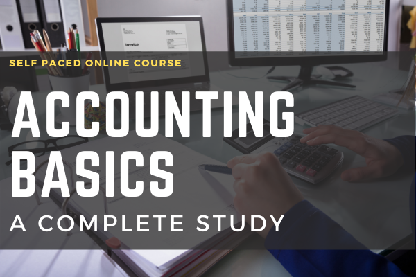 Accounting Basics A Complete Study cover