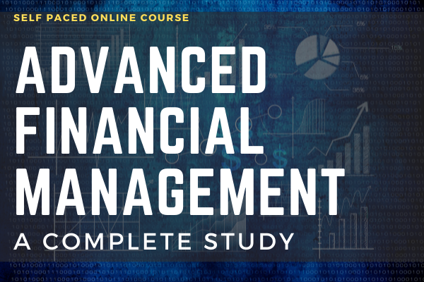 Advanced Financial Management A Complete Study cover