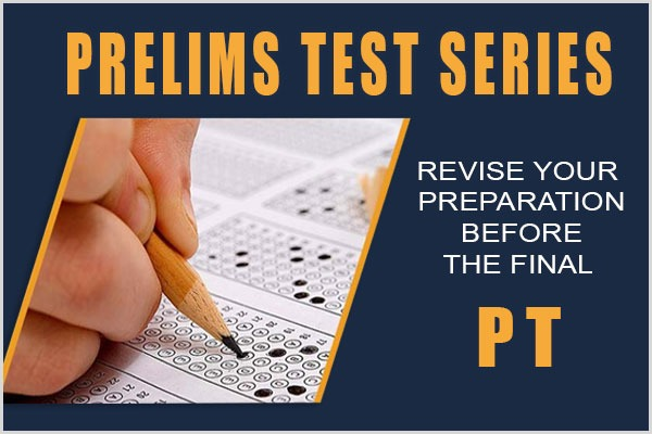 PRELIMS TEST SERIES 2019 cover