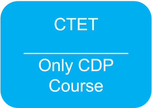 CTET - Child Development and Pedagogy Course cover