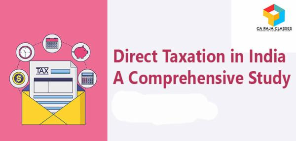Direct Taxation in India A Comprehensive Study cover