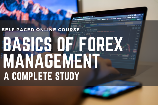 Basics of Forex Management A Complete Study cover