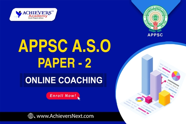 APPSC ASO PAPER 2 ONLINE COACHING cover