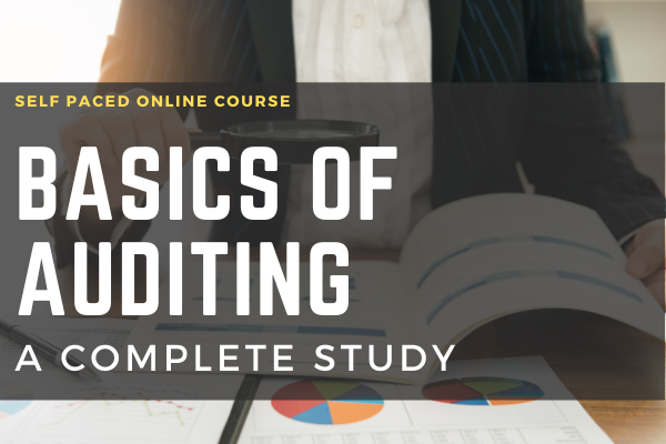 Basics of Auditing A Complete study cover
