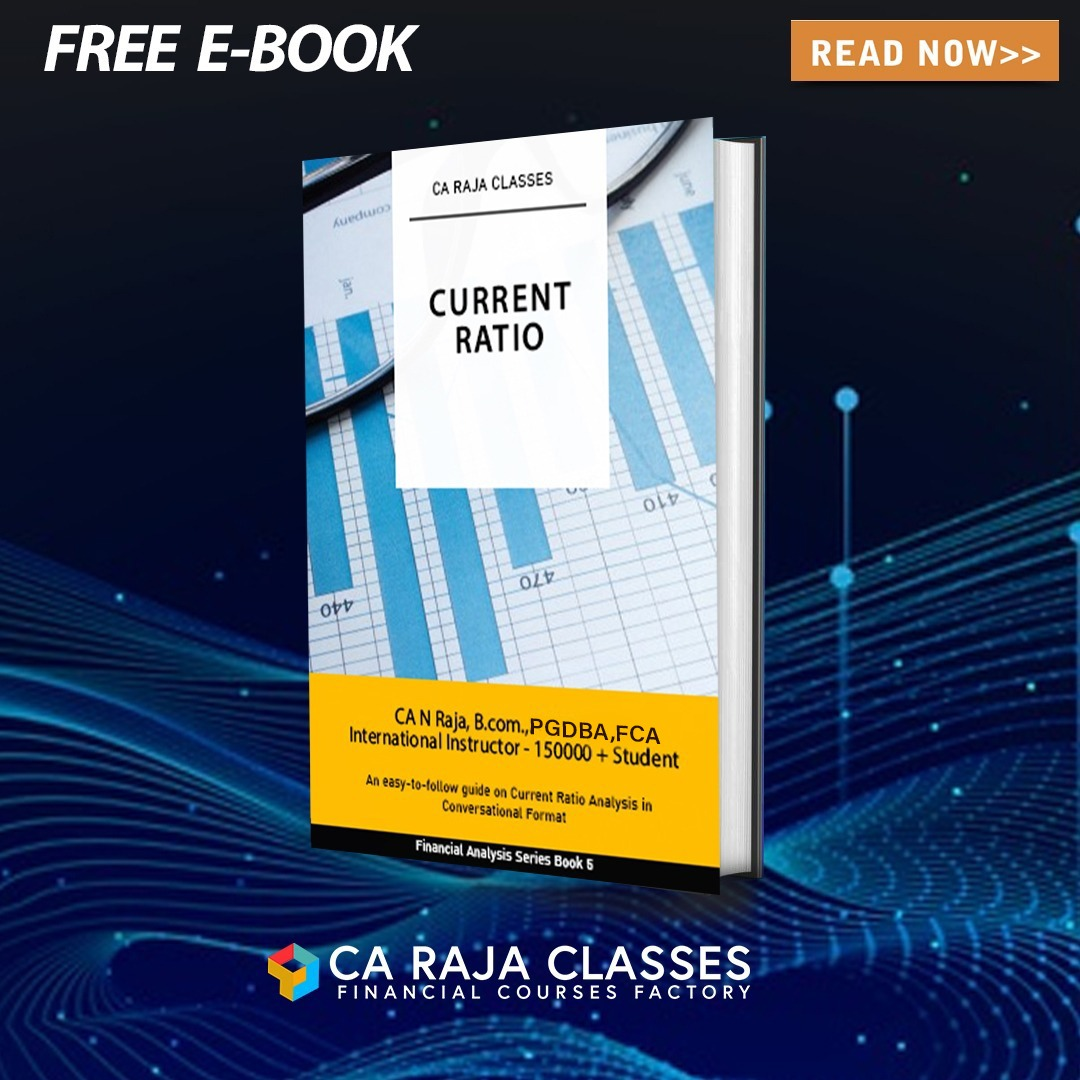E- BOOK on Current Ratio cover