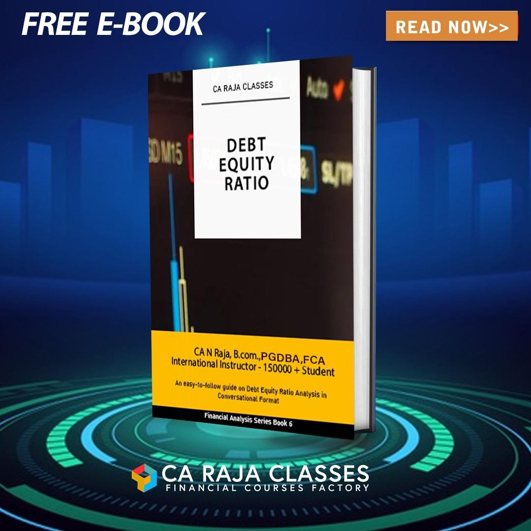 E- BOOK on Debt Equity Ratio cover
