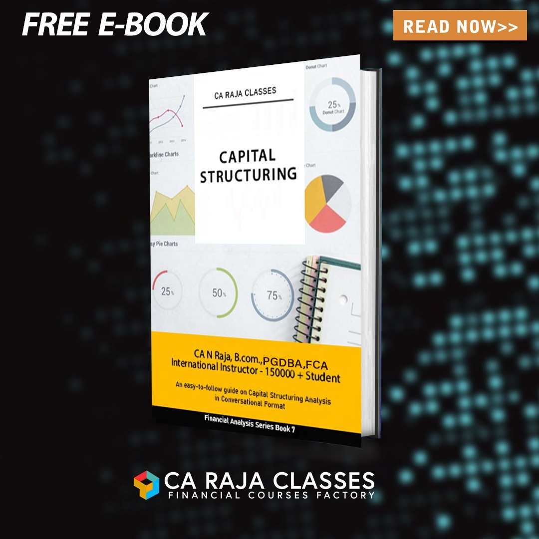 E-BOOK on Capital Structuring cover