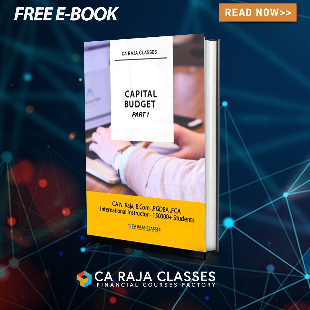E-BOOK on Capital Budgeting and Payback and Time Value of Money (Part 1) cover
