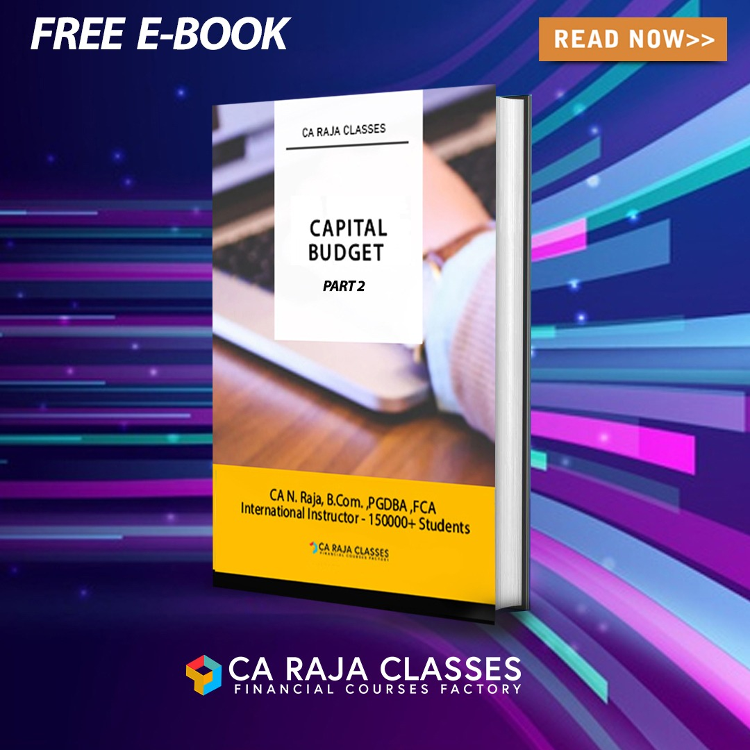 E-BOOK on Capital Budgeting and Payback and Time Value of Money (Part 2) cover