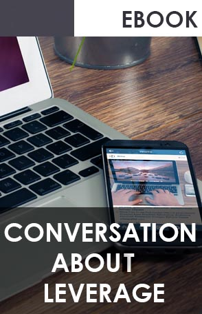 E-BOOK on Conversation about Leverage cover