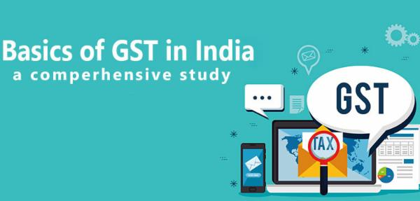 Basics of GST in India A Comprehensive Study cover