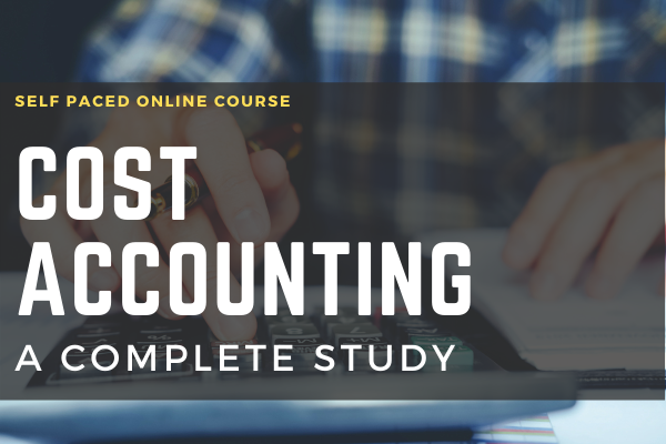 Cost Accounting A Comprehensive Study cover
