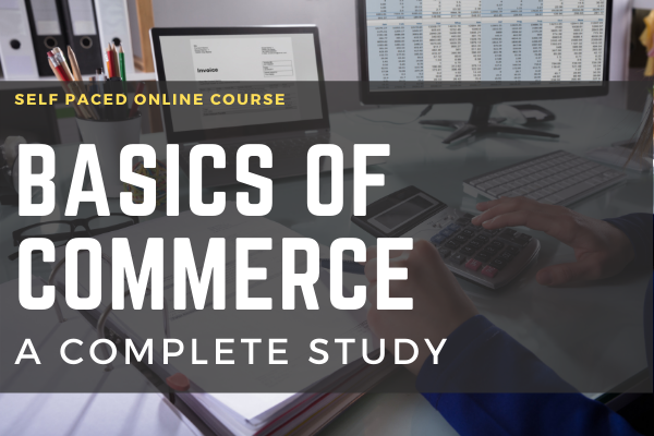 Basics of Commerce A Complete Study cover
