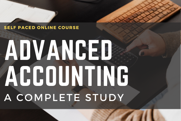 Advance Accounting A Complete Study cover