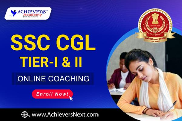 SSC CGL ONLINE COACHING cover