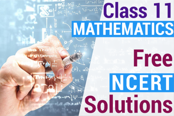 NCERT SOLUTIONS FOR CLASS 11 MATHEMATICS cover
