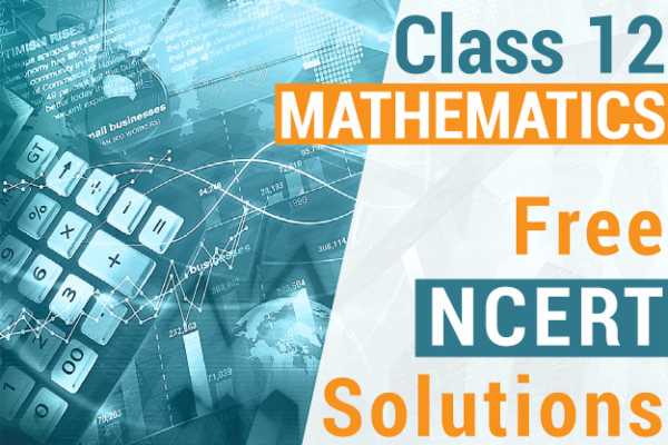 NCERT SOLUTIONS FOR CLASS 12 MATHEMATICS cover