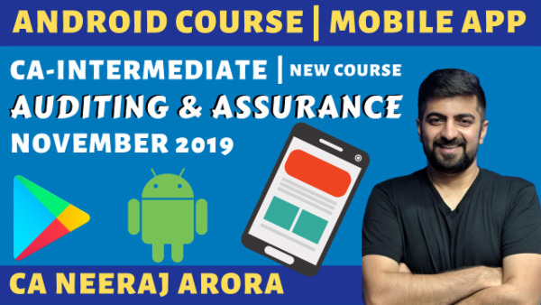 Android Only Audit for November 2019 | CA Inter cover