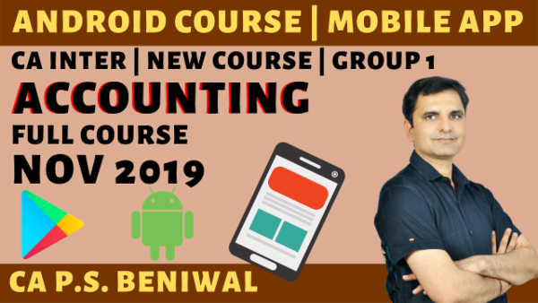 Accounting(Paper-1) CA Inter   Nov 2019 cover