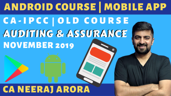 Auditing & Assurance for CA IPCC | November 2019 | Old Course cover