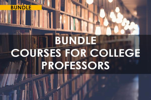 Bundle Courses for College Professors cover