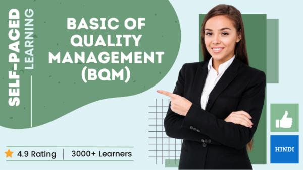 Basics of Quality Management cover