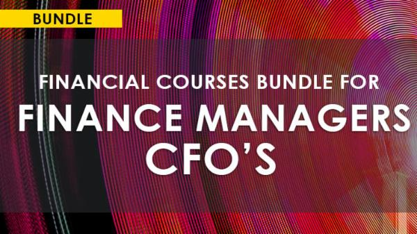 FINANCIAL COURSES BUNDLE FOR FINANCE MANAGERS/CFOs cover