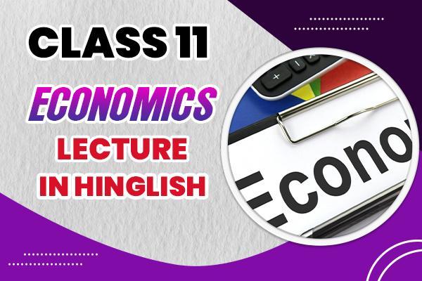Economics : Class 11 cover