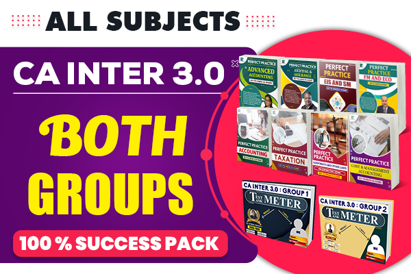 CA Inter 3.0 : Both Groups (All Subjects) cover