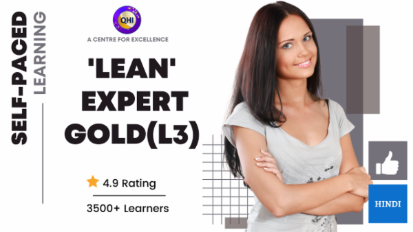 Certified 'Lean Expert - Gold Level' - Level 3 cover