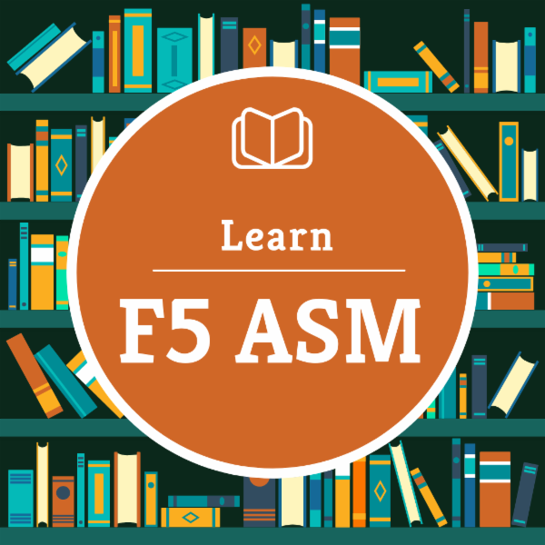 F5 ASM Basic to Advance Training cover
