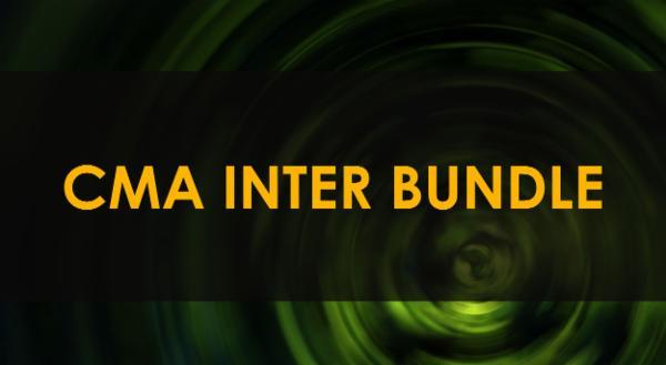 CMA INTER BUNDLE cover
