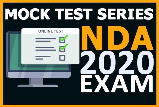 NDA - Mock Test | 2020 cover