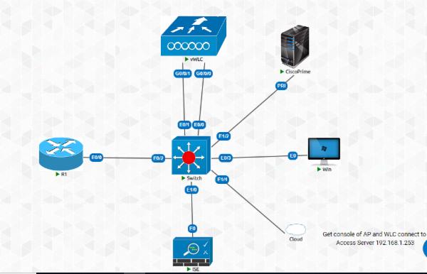 CCNA Wireless Virtual Lab cover