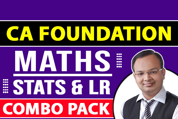 CA Foundation Maths, Statistics and Logical Reasoning cover