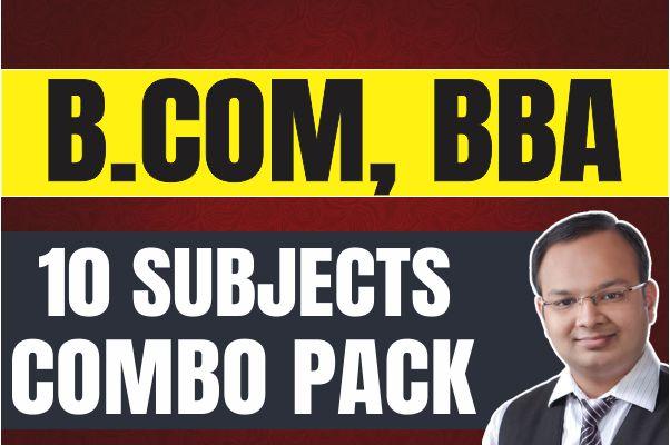 Super Saver : B.com(H/P), BBA cover