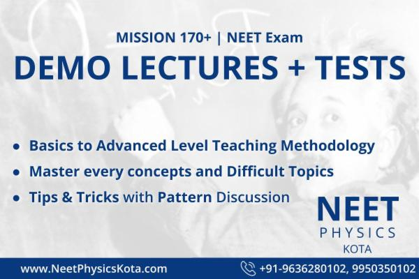 Free Video Lectures & Tests NEET/AIIMS Pattern with Video Solutions (3 NEET AIIMS Topic Covered) cover