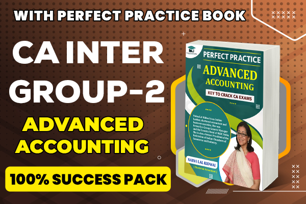 Advanced Accounting : CA Inter cover
