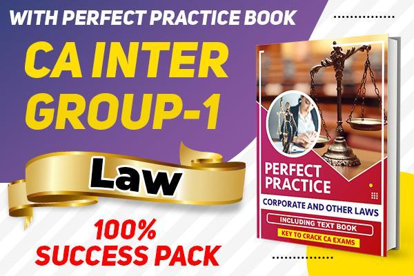 Law : CA Inter cover