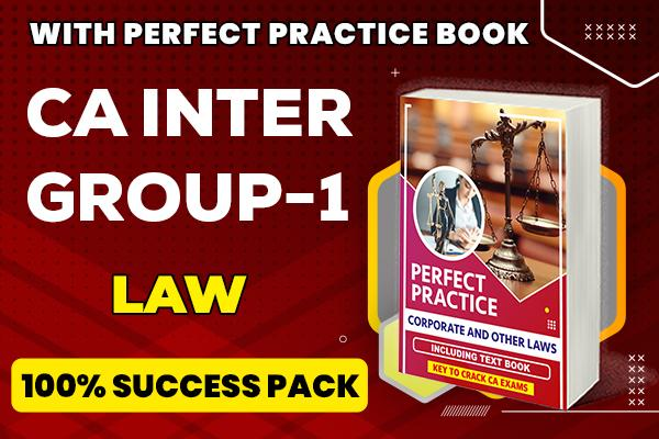Law : CA Inter cover