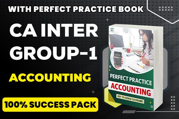 Accounting : CA Inter (Group : 1) cover