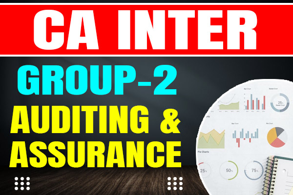 Auditing : CA Inter cover