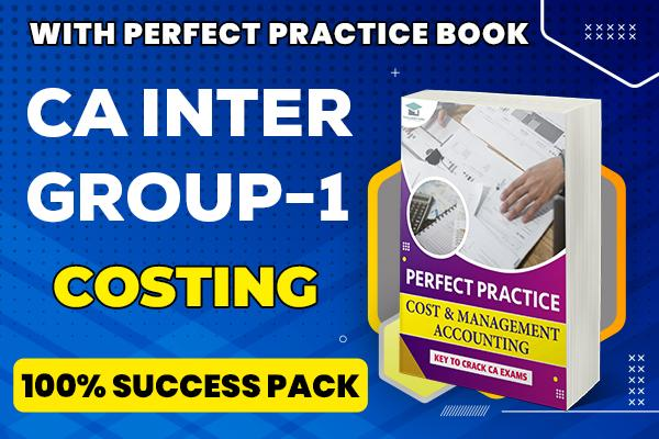 Costing : CA Inter cover