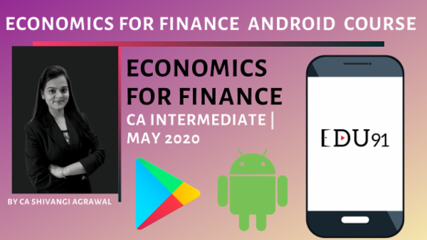 CA Inter Economics May 2020 | Mobile App cover