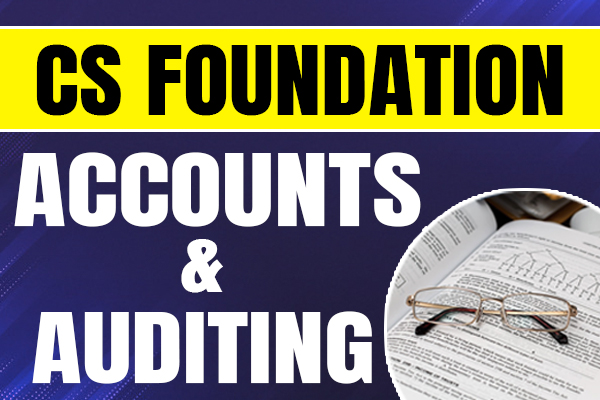 Accounts & Auditing : CS Foundation cover
